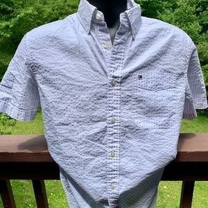 Tommy Hilfiger short sleeve button down Size Med